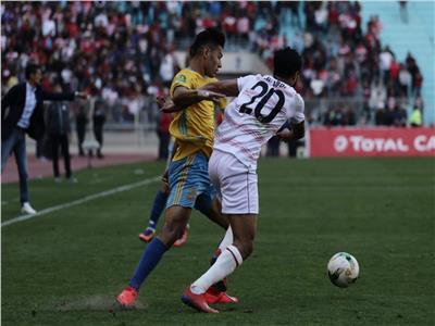 مباراة الإسماعيلي والأفريقي التونسي