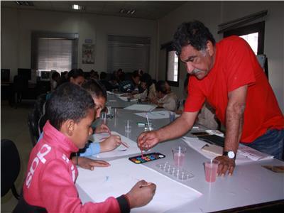 محمد عبلة: ورشة الرسم بالأقصر الإفريقي هدفها ربط أطفال الأقصر بالسينما