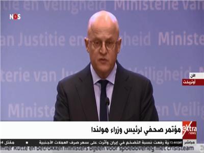 مؤتمر صحفي لرئيس وزراء هولندا