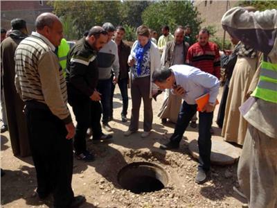 الإسكان: وفد البنك الدولي يتفقد مشروعات الصرف الصحي المتكامل بسوهاج