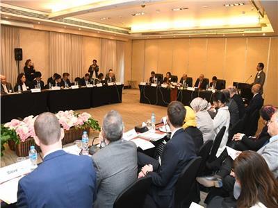 السعيد تشارك في المؤتمر الإقليمي حول تحقيق نمو مستدام في منطقة الشرق الأوسط وشمال أفريقيا