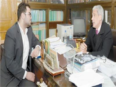 د.محمد عفيفي خلال الحوار