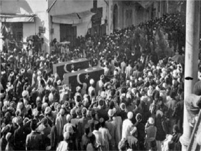 أول جنازة شعبية لأول شهداء سقطوا في ثورة 1919