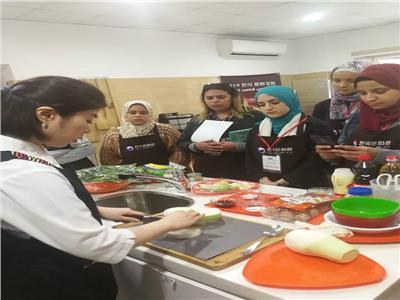 دورة لتعليم فنون الطهي الكوري