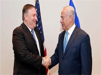 وزير الخارجية الأمريكي مايك بومبيو ورئيس الوزراء الإسرائيلي بنيامين نتنياهو