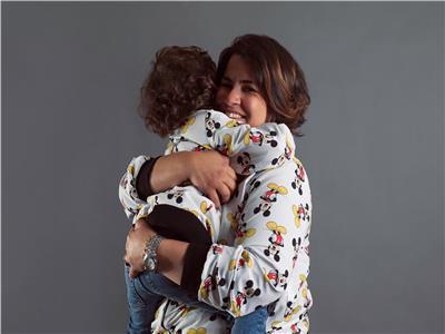 إنجي وجدان وابنها