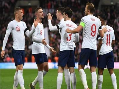 فرحة لاعبي انجلترا بالفوز