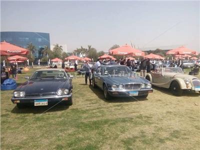 جانب من ملتقى القاهرة السابع للسيارات الكلاسيكية