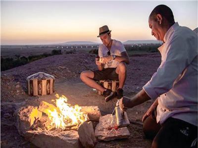 جلسات من الصفاء الذهني مع القمر والنجوم في عروس الصحراء