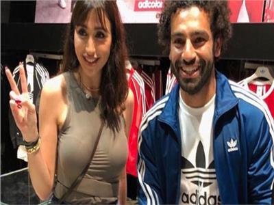 الفنانة جيسي عبده ومحمد صلاح