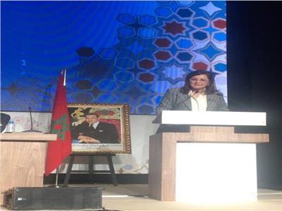 وزيرة التخطيط والمتابعة والإصلاح الإداري الدكتورة هالة السعيد