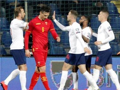 فرحة لاعبي المنتخب الإنجليزي بالفوز