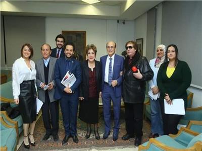 المؤتمر الصحفي لمهرجان شرم الشيخ الدولي للمسرح الشبابي