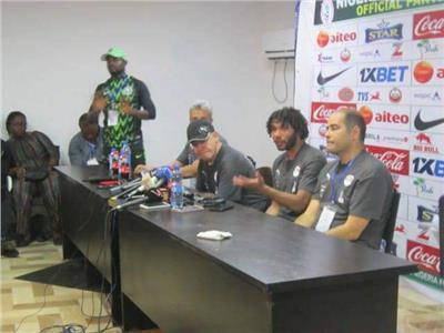المؤتمر الصحفي عقب مباراة مصر ونيجيريا