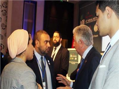 وفد وزارة الاستثمار مع المهندس هاني سنبل الرئيس التنفيذي للمؤسسة الدولية الإسلامية لتمويل التجارة
