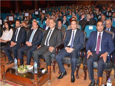 محافظ الغربية و رئيس جامعة طنطا