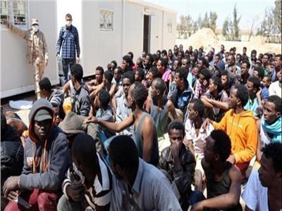مهاجرون محاصرون في طرابلس