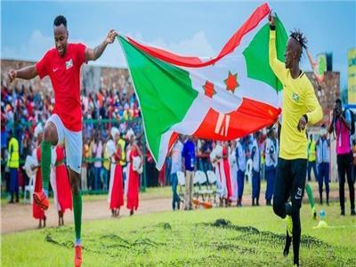 منتخب بوروندي يحتفل بالتأهل لبطولة أمم إفريقيا