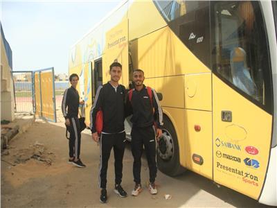 فريق الإسماعيلي يغادر إلى للقاهرة