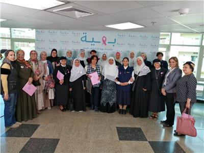 القومي للمراة ينظم زيارتين إلى مستشفي 57357 وبهية