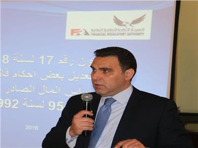 خالد النشار نائب رئيس هيئة الرقابة المالية