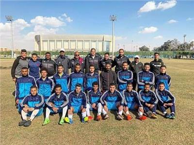 فريق الإسماعيلي مواليد 99 بطل الدوري