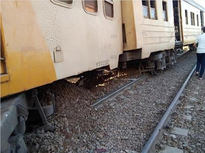 خروج القطار عن القضبان