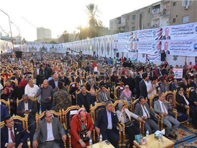 مؤتمر شعبى حاشد لمستقبل وطن بالبحيرة لتايد التعديلات الدستورية