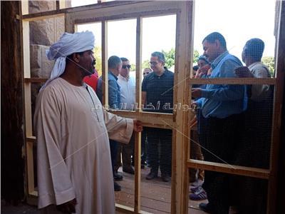 وزيرا الآثار والسياحة يفتتحان معبد الابت في الأقصر