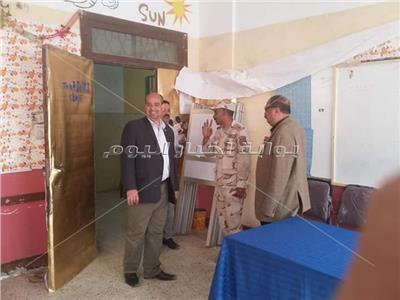 لجان القليوبية تتزين قبل الإستفتاء على التعديلات الدستورية