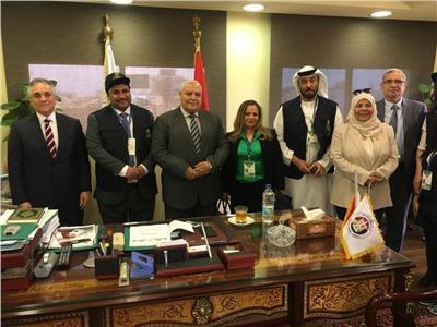 وفد البرلمان العربي