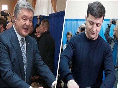 فلاديمير زيلينسكي وبيترو بوروشينكو