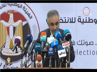 المستشار محمود الشريف متحدث الهيئة الوطنية للانتخابات
