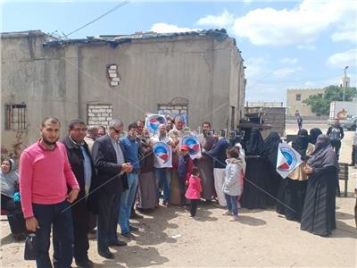 حزب النور يحشد الناخبين للأدلاء بأصواتهم بلجان البحيرة
