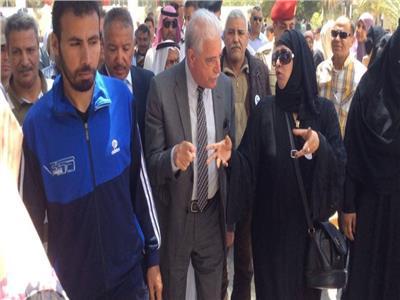 محافظ جنوب سيناء يتفقد لجان الاستفتاء على التعديلات الدستورية في شرم الشيخ