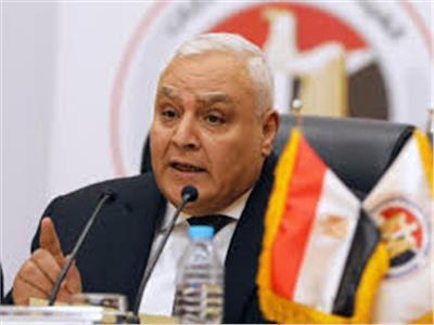 المستشارلاشين إبراهيم رئيس الهيئة الوطنية للانتخابات