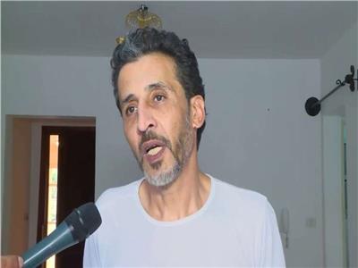 أشرف حامد المتهم بقتل طالب الرحاب