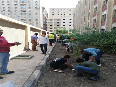 """البيئة تشارك  مبادرة """"شجرها"""" بزراعة الأشجار فى المدارس"""