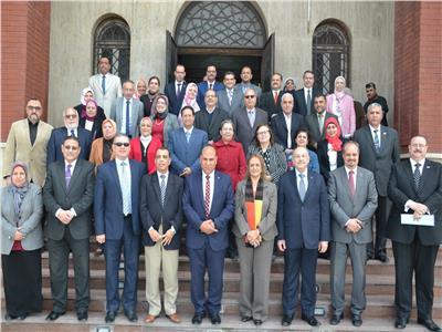 بعد دخول نادي المائة تكريم لجنة تصنيف الجامعات بالإسكندرية