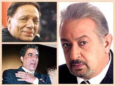 نور الشريف مع الزعيم وأحمد زكي
