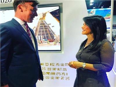 تلفزيون دبي يستضيف الدكتورة رانيا المشاط خلال ملتقى سوق السفر العربي ATM