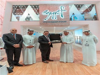 اقبال كبير علي الجناح المصري المشارك في ملتقى سوق السفر العربي