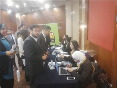 إجراء مقابلات المتطوعين بالإسكندرية