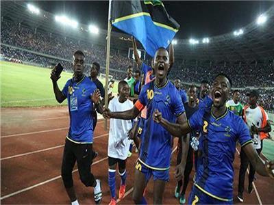فرحة لاعبي تنزانيا بالتأهل