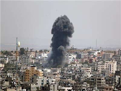 الغارات الاسرائيلية على قطاع غزة