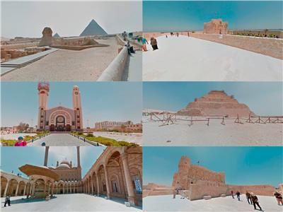 آثار مصر على بوابة جوجل للتراث بتقنية ثلاثية الأبعاد