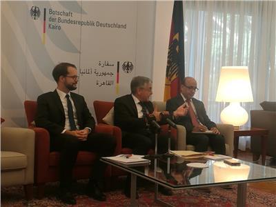 السفير الألماني بالقاهرة