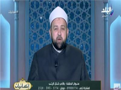 الشيخ يسري عزام إمام وخطيب مسجد صلاح الدين بالقاهرة