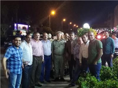 حملات ليلية لرفع الإشغالات والتعديات بمدينة العاشر من رمضان