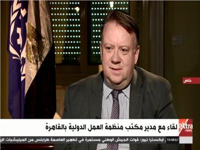 مدير مكتب منظمة العمل الدولية بالقاهرة إيريك أوشلان